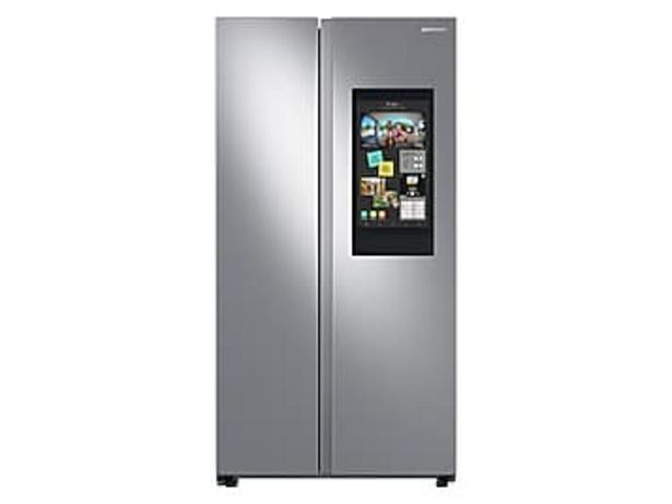 27.3 cu. ft. Smart Side-by-Side Refrigerator with Family Hub™ in Stainless Steel deals at $1889