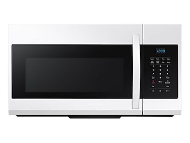 1.7 cu. ft. Over-the-Range Microwave in White deals at $249