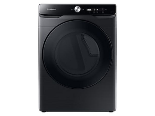7.5 cu. ft. Smart Dial Electric Dryer with Super Speed Dry in Brushed Black deals at $949