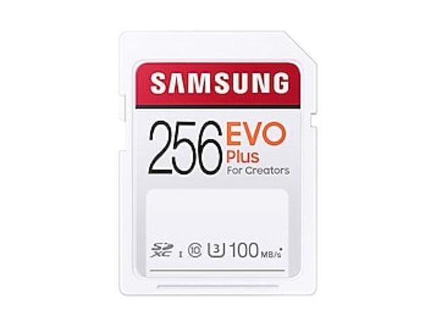 EVO Plus SDXC Full-size SD Card 256GB deals at $29.99