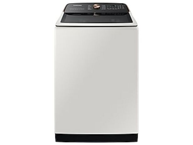 5.5 cu. ft. Extra-Large Capacity Smart Top Load Washer with Super Speed Wash in Ivory deals at $799
