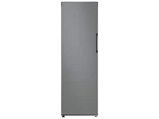11.4 cu. ft. BESPOKE Flex Column refrigerator with customizable colors and flexible design in Grey Glass deals at $999
