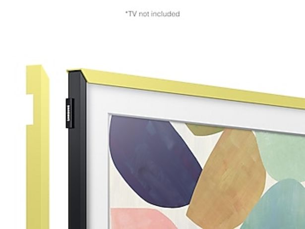 "(2020) 32"" The Frame Customizable Bezel - Vivid Lemon deals at $99.99"