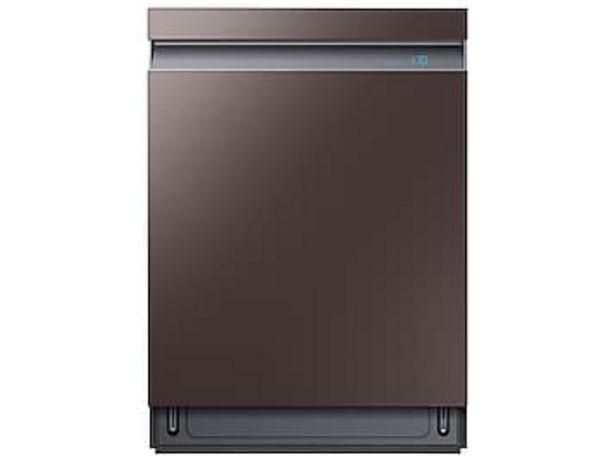 Smart BESPOKE Linear Wash 39dBA Dishwasher in Fingerprint Resistant Tuscan Stainless Steel deals at $949