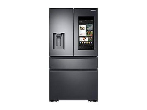 22 cu. ft. Family Hub™ Counter Depth 4-Door French Door Refrigerator in Black Stainless Steel deals at $3699