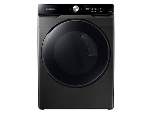 7.5 cu. ft. Smart Dial Electric Dryer with Super Speed Dry in Brushed Black deals at $829
