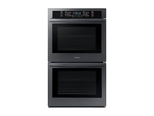 """30"""" Smart Double Wall Oven in Black Stainless Steel deals at $2294"""