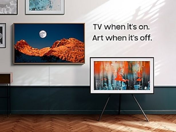 """32"""" Class The Frame QLED HDR Smart TV (2020) deals at $449.99"""