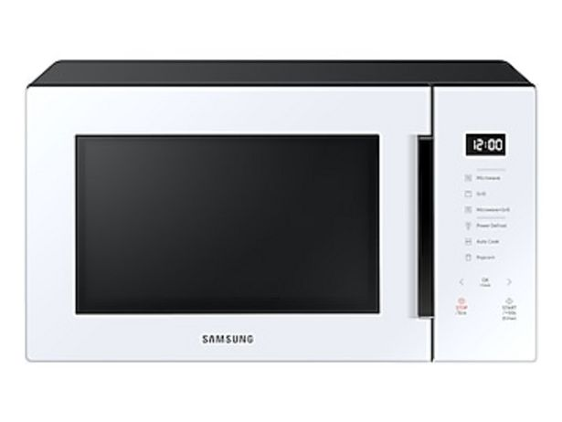 1.1 cu. Ft. Countertop Microwave with Grilling Element in White deals at $224