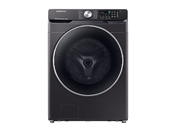 4.5 cu. ft. Smart Front Load Washer with Super Speed in Black Stainless Steel deals at $749