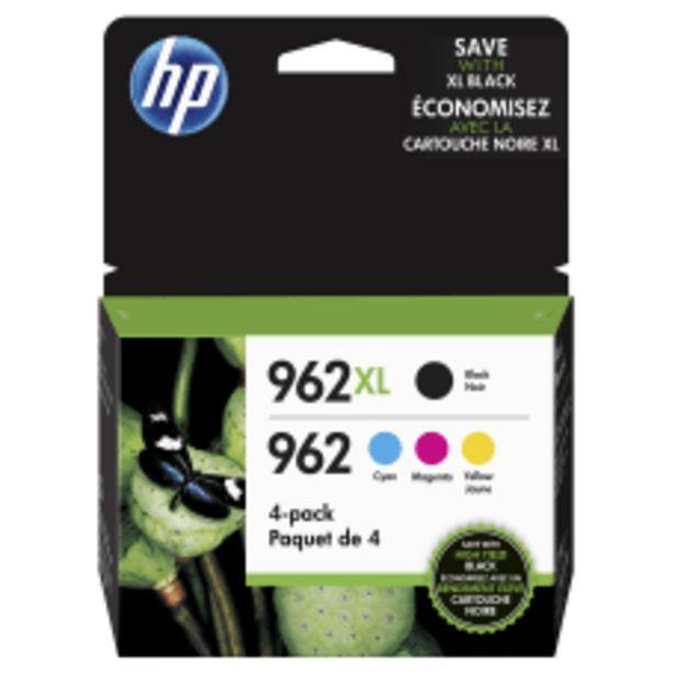 HP 962XL Black and 962 Tricolor deals at $103.89