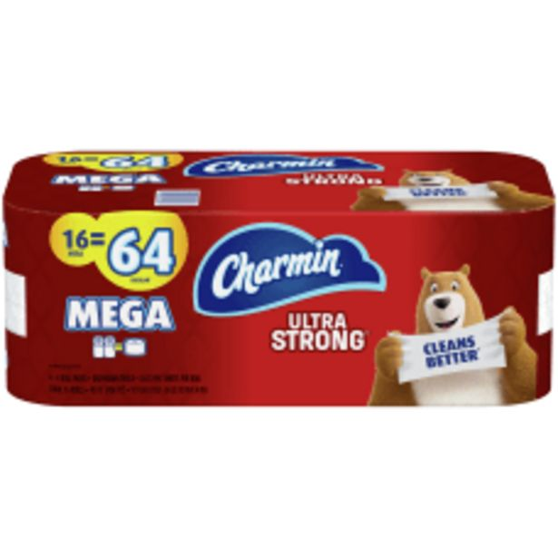 Charmin Ultra Strong 2 Ply Toilet deals at $25.99