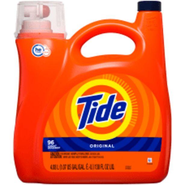 Tide HE Turbo Clean Liquid Laundry deals at $22.99