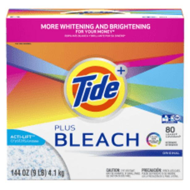 Tide Powder Laundry Detergent With Bleach deals at $75.99