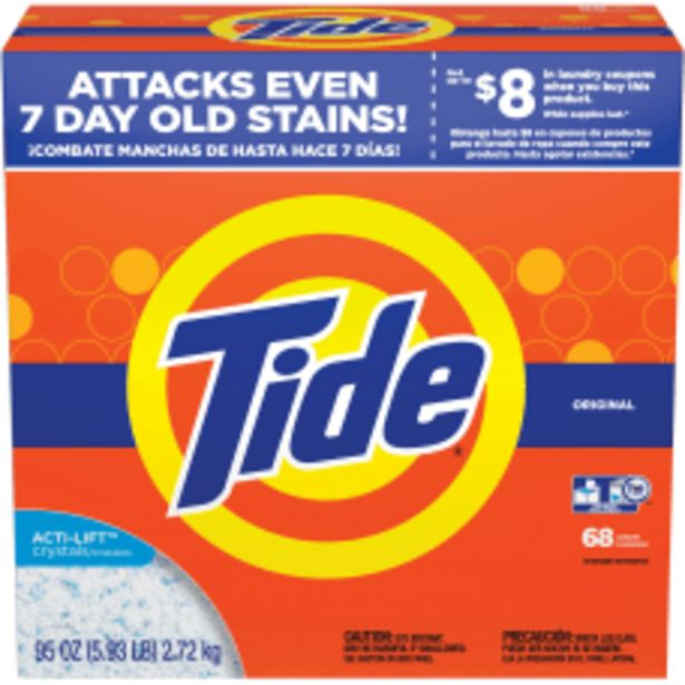 Tide Powder Laundry Detergent Concentrate Powder deals at $32.59