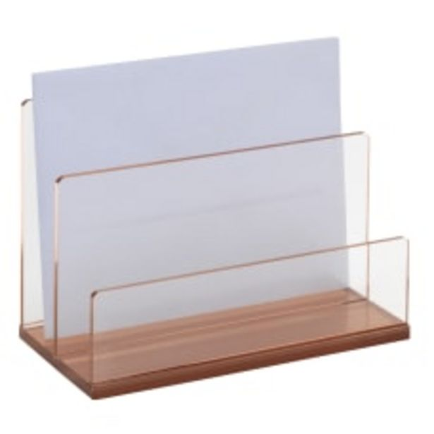 Realspace Rose Gold Acrylic 2 Compartment deals at $11.29