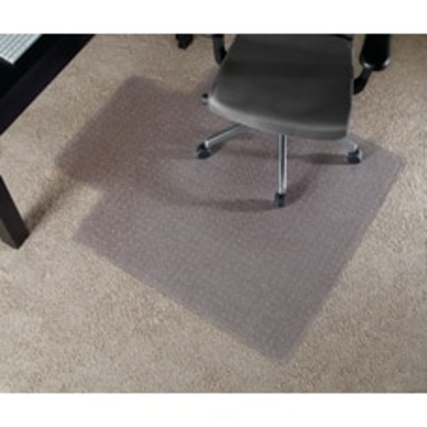 Realspace Wide Lip Chair Mat For deals at $53.19
