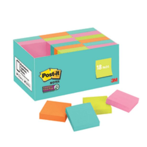 Post it Super Sticky Notes 1 deals at $10.99