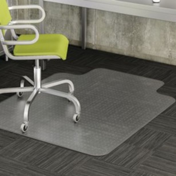 Realspace Wide Lip Chair Mat For deals at $70.99