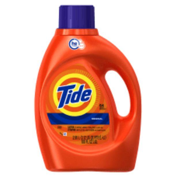 Tide HE Liquid Laundry Detergent Original deals at $114.99