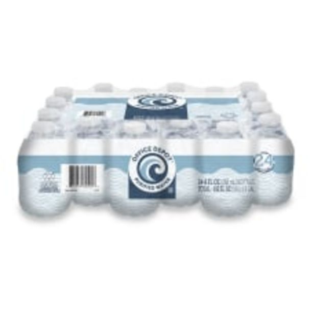 Office Depot Brand Purified Water 8 deals at $7.89