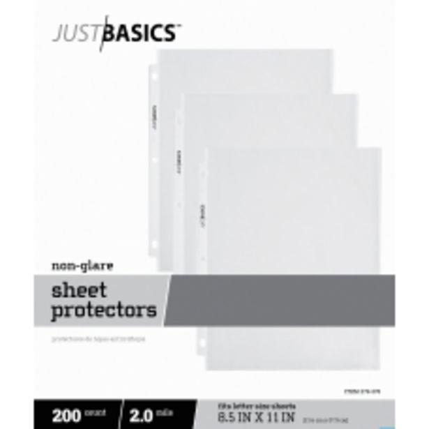 Just Basics Lightweight Sheet Protectors 8 deals at $23.59
