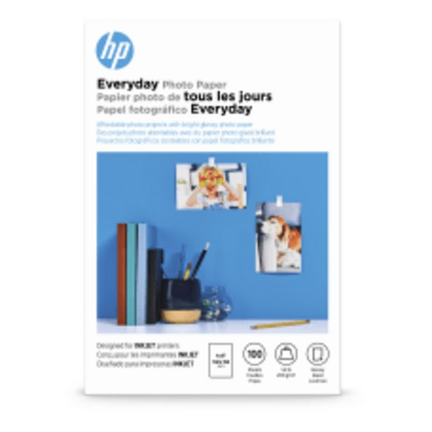 HP Everyday Photo Paper for Inkjet deals at $12.19
