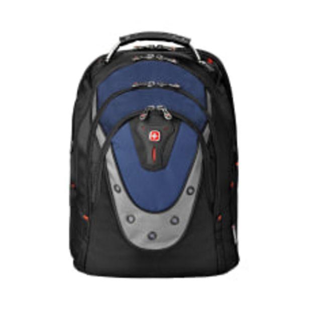 Wenger Ibex Laptop Backpack BlackBlue deals at $106.59