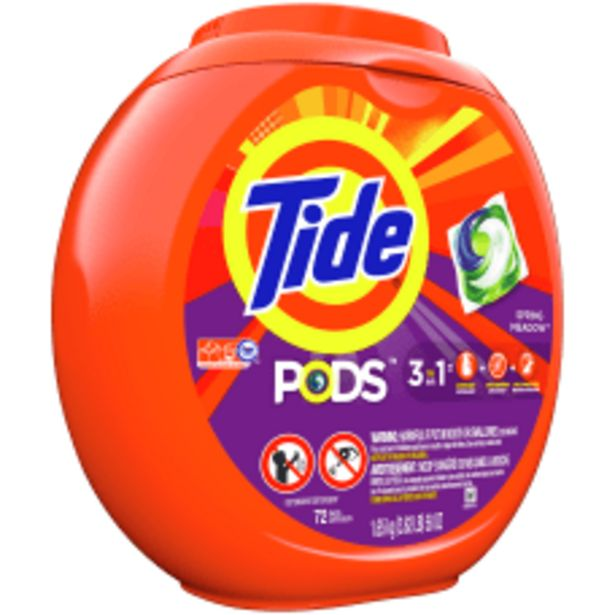 Tide 3 In 1 Pods Laundry deals at $20.49