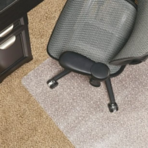 Realspace Berber Studded Chair Mat For deals at $85.99