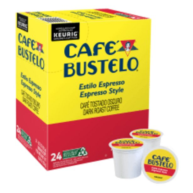 Cafe Bustelo Single Serve Coffee K deals at $15.29