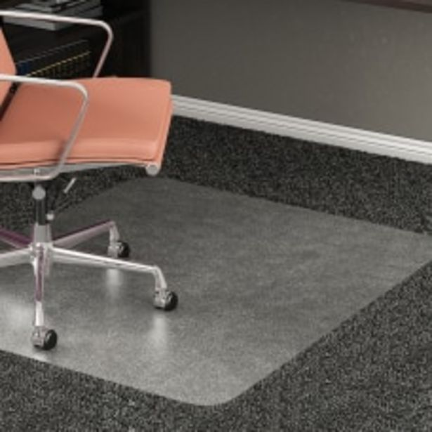Realspace All Pile Studded Chair Mat deals at $54.99