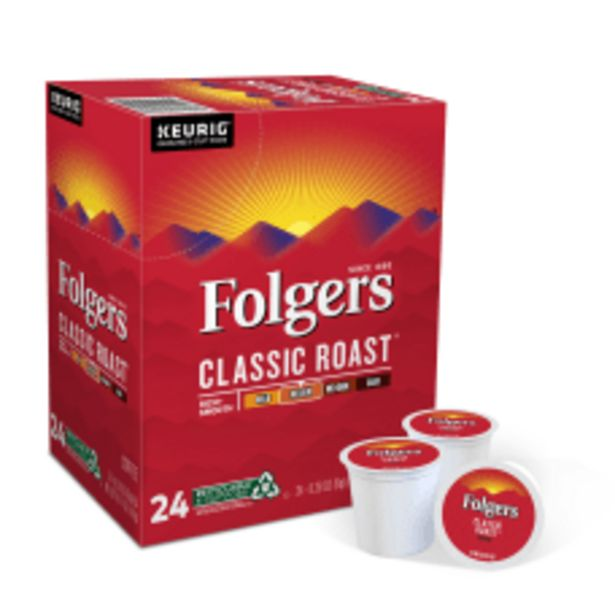 Folgers Single Serve Coffee K Cup deals at $11.29