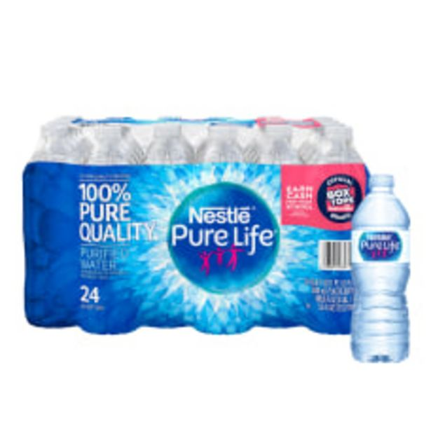 Nestl Pure Life Purified Water 169 deals at $8.19