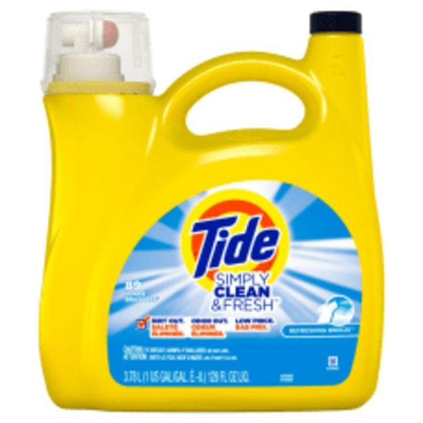 Tide Simply Clean Fresh Liquid Laundry deals at $12.99