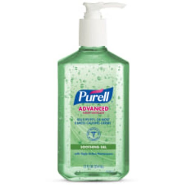 PURELL Advanced Hand Sanitizer Soothing Gel deals at $5.39