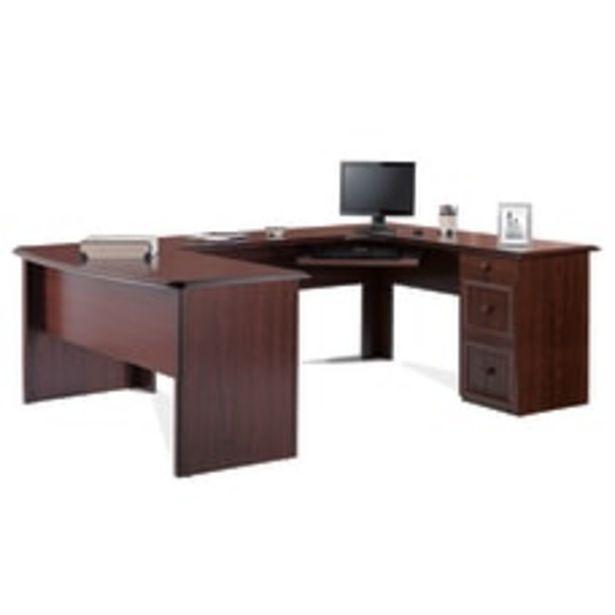 Realspace Broadstreet U Shaped Executive Desk deals at $524.99