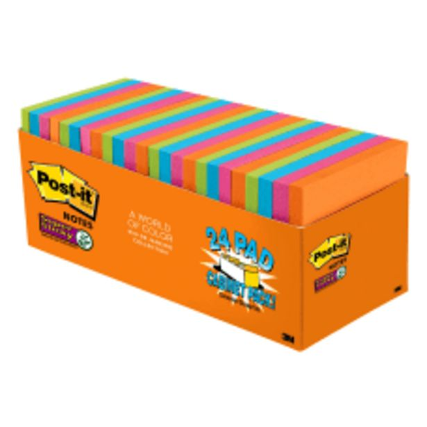 Post it Notes Super Sticky Notes deals at $19.99