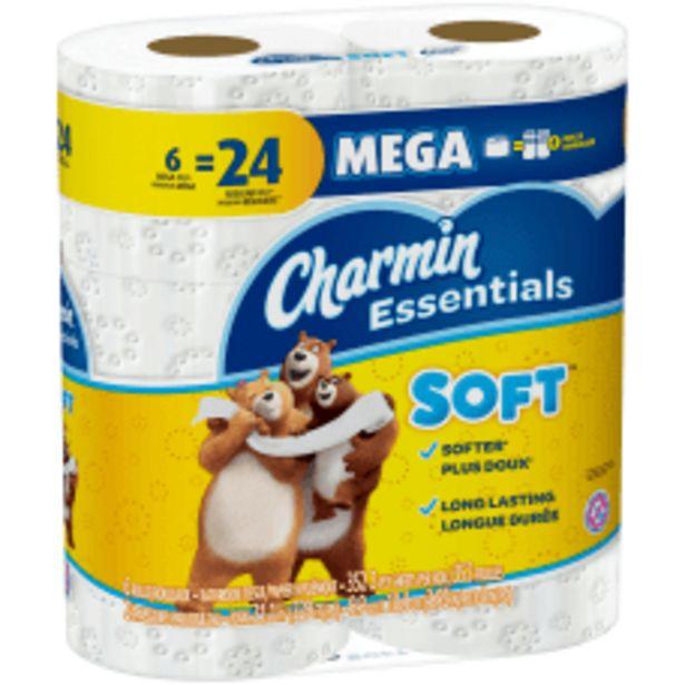 Charmin Essentials Soft 2 Ply Mega deals at $6.99