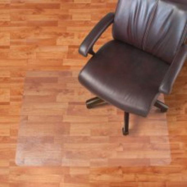 Realspace Hard Floor Chair Mat Rectangular deals at $59.99