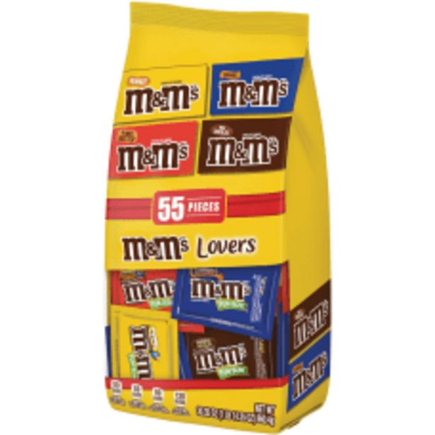 M Ms Chocolate Candies Lovers Variety deals at $15.39