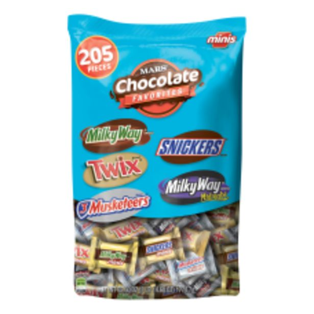 Mars Chocolate Mix 626 Oz Pack deals at $26.59