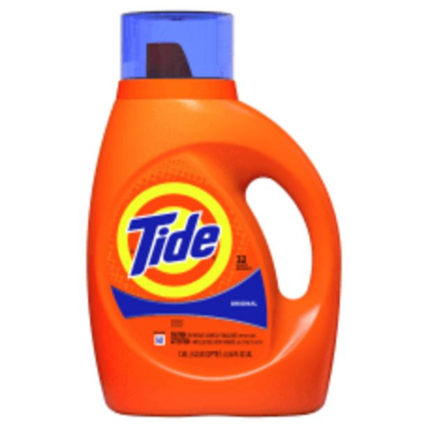 Tide 32 Use Liquid Detergent 46 deals at $13.79