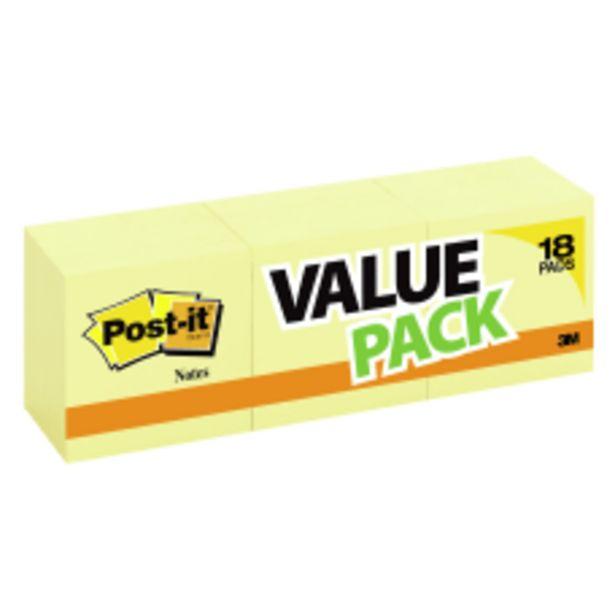 Post it Notes 3 x 3 deals at $16.99