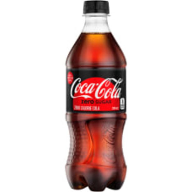 Coca Cola Zero 20 Oz Bottle deals at $1.59