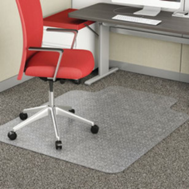 Realspace Chair Mat For Thin Commercial deals at $41.99