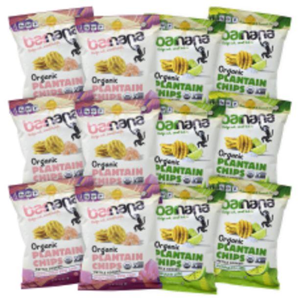 Barnana Plantain Chips 2 Oz Pack deals at $41.99