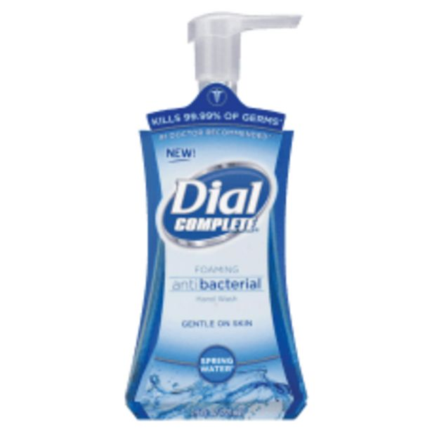 Dial Complete Antibacterial Foam Hand Soap deals at $3.99