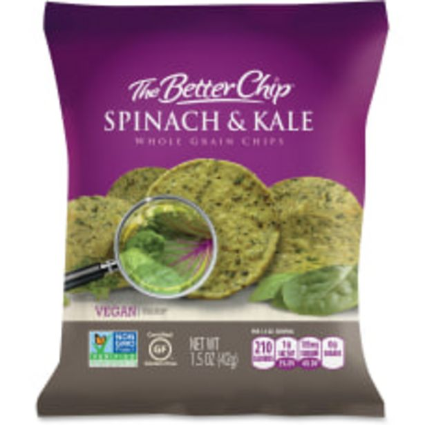 The Better Chip SpinachKale Chips Gluten deals at $12.09