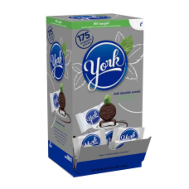 York Peppermint Patties 048 Oz Box deals at $33.49